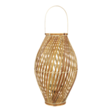 Bamboe lantaarn Hanoi 25x40,5 cm. 4 stuks_