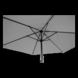 Parasol Gemini 3 meter, licht grijs_