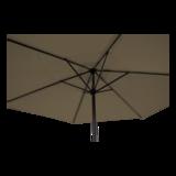 Parasol Gemini taupe 3 meter_