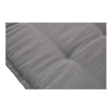 Bankkussen antraciet, lengte 150 cm, breedte 47 cm, dikte 6 cm_