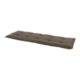 Bankkussen taupe, lengte 150 cm, breedte 47 cm, dikte 6 cm_