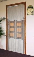 Degor Vliegengordijn aluminium motief klapdeur 90x210 cm