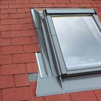 EHA 03 66x98 Gootstuk voor geprofileerde dakbedekking tot 90 mm profielhoogte, verhoogt dakhelling met 10?