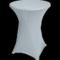 Easyfit statafelrok, stretch, grijs diameter 80 cm