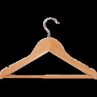 Kledinghanger Kinder, hout driehoek, 32 cm breed (100 stuks)