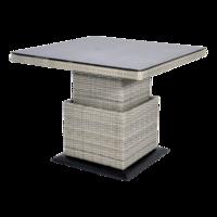 Loungetafel verstelbaar Soho Brick, 90x90cm