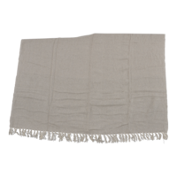 Plaid beige, 125x150 cm. 4 stuks