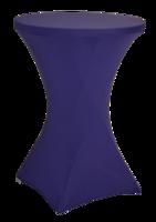 Statafelrok voor statafel, 80 tot 85 cm, paars