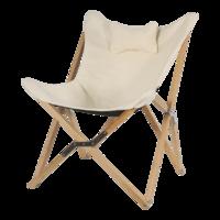 Vlinderstoel, naturel