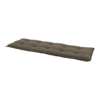 Bankkussen taupe, lengte 150 cm, breedte 47 cm, dikte 6 cm