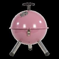 Barbecue tafelmodel kogel, 32cm soft pink. 4 stuks