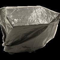 Beschermhoes BBQ, grijs, lengte 120 cm, breedte 60 cm, hoogte 100 cm