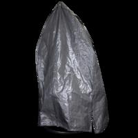 Beschermhoes grijs voor 1 persoons hangstoel