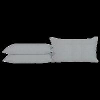 Sierkussen Baltimore grijs, lengte 60 cm, breedte 40 cm