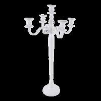 Kandelaar Classic aluminium wit 144cm