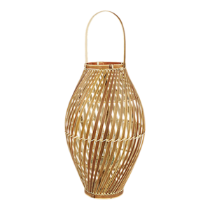Bamboe lantaarn Hanoi 25x40,5 cm. 4 stuks