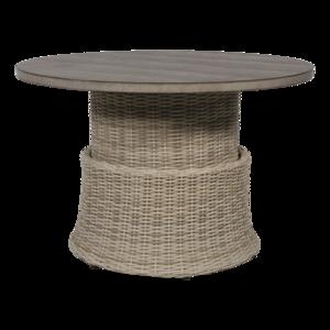 Loungetafel Soho Beach 100 cm verstelbaar met cherry board blad