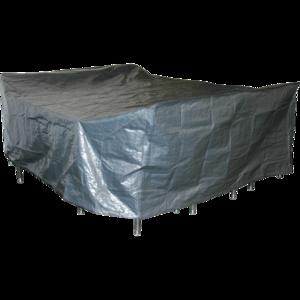 Beschermhoes voor grote zitgroep, grijs 300x250 cm, hoogte 80 cm