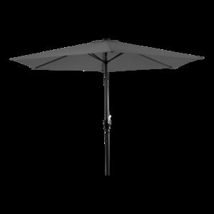 Parasol Gemini grijs 3 meter