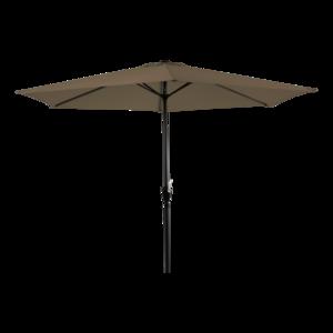 Parasol Gemini taupe 3 meter