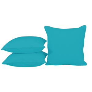 Sierkussen Clear Blue, 50x50cm