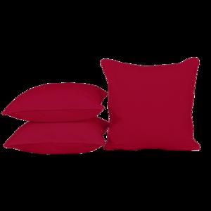 Sierkussen Deep Red, 50x50cm