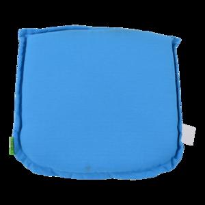 Zitkussen Boston Clear Blue, lengte 46 cm, breedte 47 cm