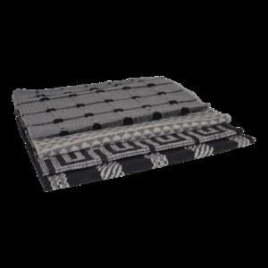 Deurmat grijs 4 assorti, 50x80cm. 12 stuks