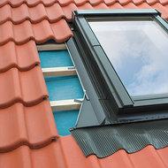 EHV-P 13 78x160 Gootstuk voor geprofileerde dakbedekking tot 90 mm profielhoogte, loodslabbe